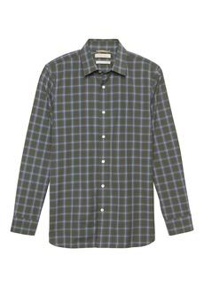 Banana Republic Heritage NEW Slim-Fit Plaid Shirt