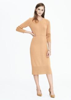 Heritage Seamed Sweater Dress