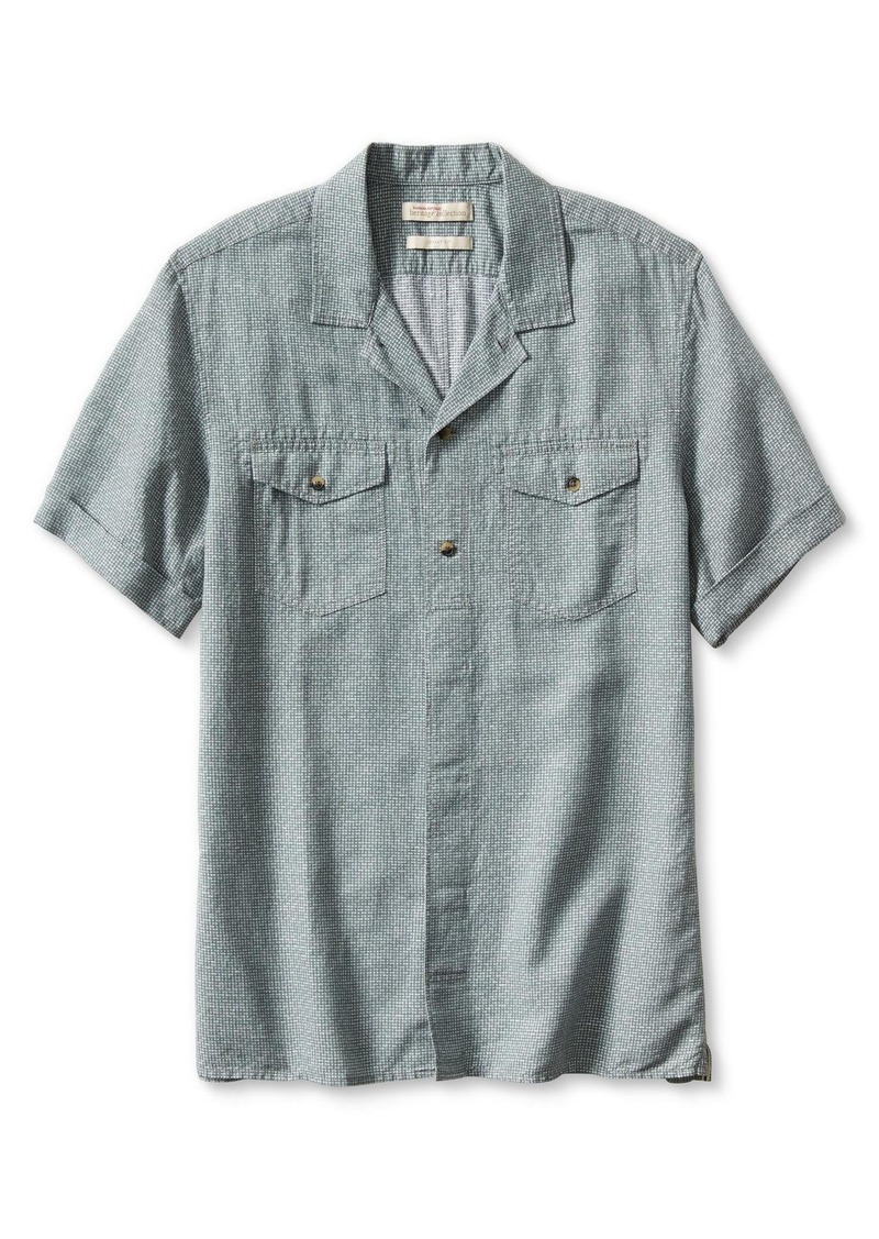 Banana Republic Heritage Short-Sleeve Dobby Shirt
