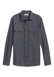 Banana Republic Heritage Slim-Fit Jaspe Shirt Jacket