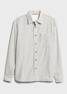 Banana Republic Heritage Untucked Standard-Fit Flannel Shirt