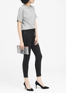 Banana Republic High-Rise Legging-Fit Side-Stripe Ankle Jean