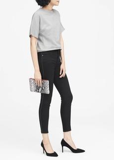 Banana Republic High-Rise Legging-Fit Side-Stripe Ankle Jean