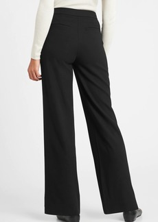 Banana Republic High-Rise Wide-Leg Pant with Elastic Sides