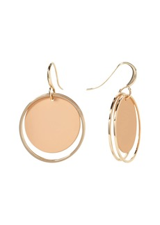 Banana Republic Hoop & Disk Drop Earring