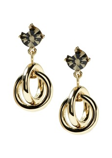 Banana Republic Interlocking Links Drop Earring