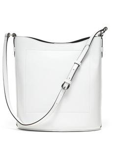 Banana Republic Italian Leather Large Bucket Bag