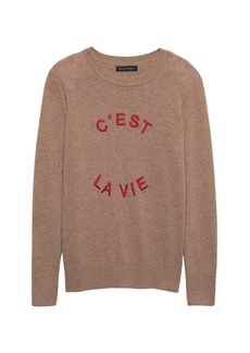 Banana Republic C'est La Vie Sweater