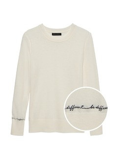Banana Republic Be Different Sweater