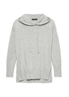 Banana Republic Italian Merino-Blend Sweater Hoodie