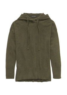 Banana Republic Italian Merino-Blend Sweater Hoodie