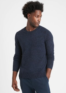 Banana Republic Italian Merino Crew-Neck Sweater