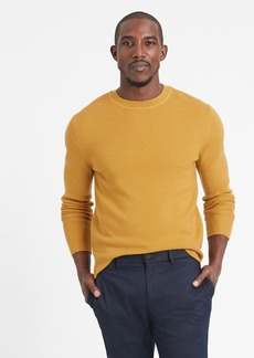 Banana Republic Italian Merino Waffle-Knit Sweater
