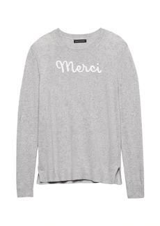 Banana Republic Italian Superloft Merci Sweater