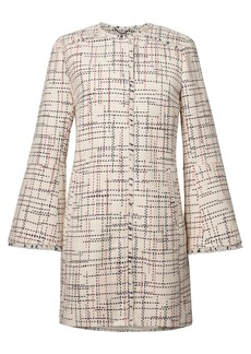 Italian Tweed Car Coat