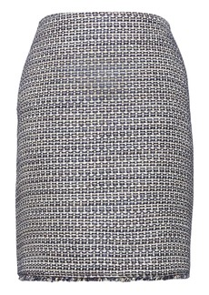 Banana Republic Italian Tweed Mini Skirt