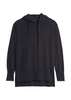 Banana Republic Italian Wool-Blend Sweater Hoodie