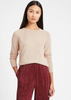Banana Republic Italian Wool-Cashmere Cropped Sweater