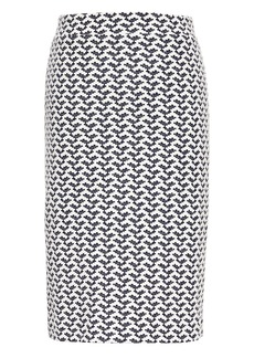 Banana Republic Jacquard Knit Pencil Skirt