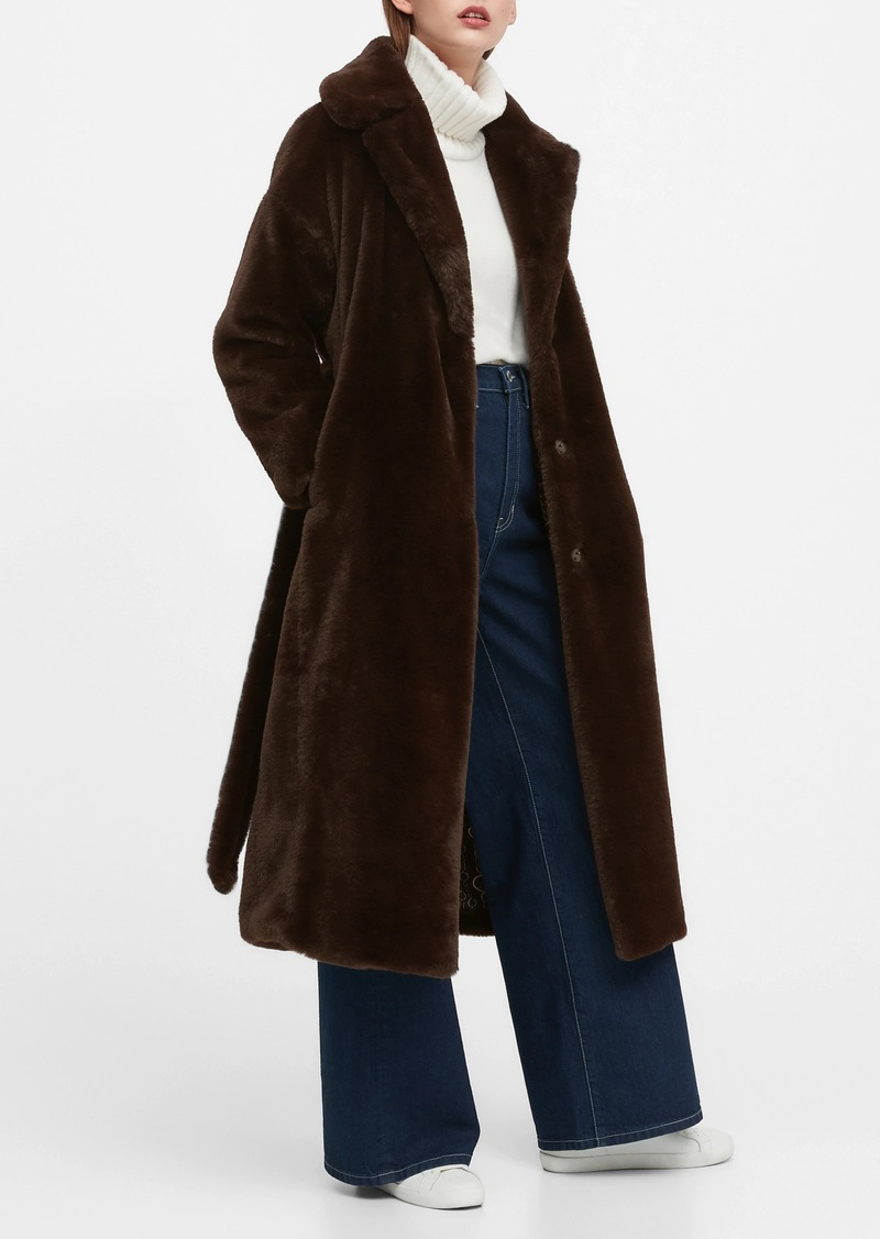 JAPAN EXCLUSIVE Faux Fur Long Coat
