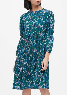 Banana Republic JAPAN EXCLUSIVE Floral A-Line Dress