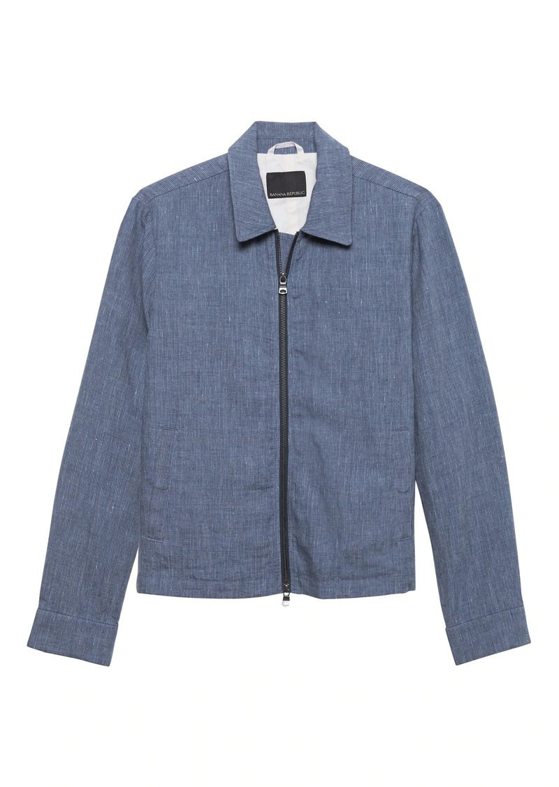 Banana Republic JAPAN EXCLUSIVE Linen Coach's Jacket