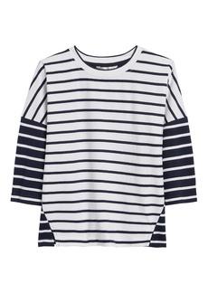 Banana Republic JAPAN EXCLUSIVE Oversize Stripe T-Shirt