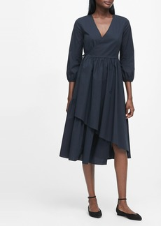 Banana Republic JAPAN EXCLUSIVE Poplin Wrap Dress