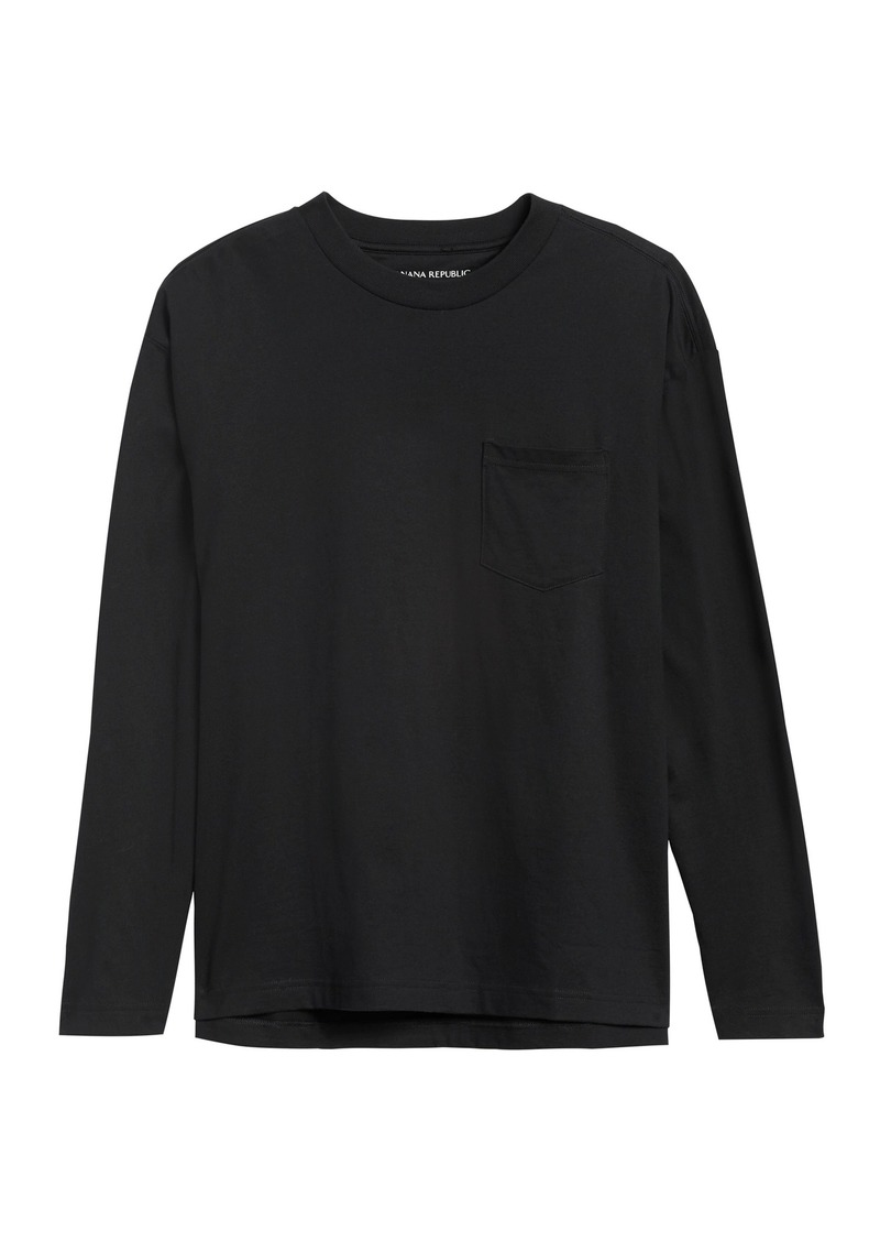 Banana Republic JAPAN EXCLUSIVE SUPIMA® Cotton Boxy T-Shirt