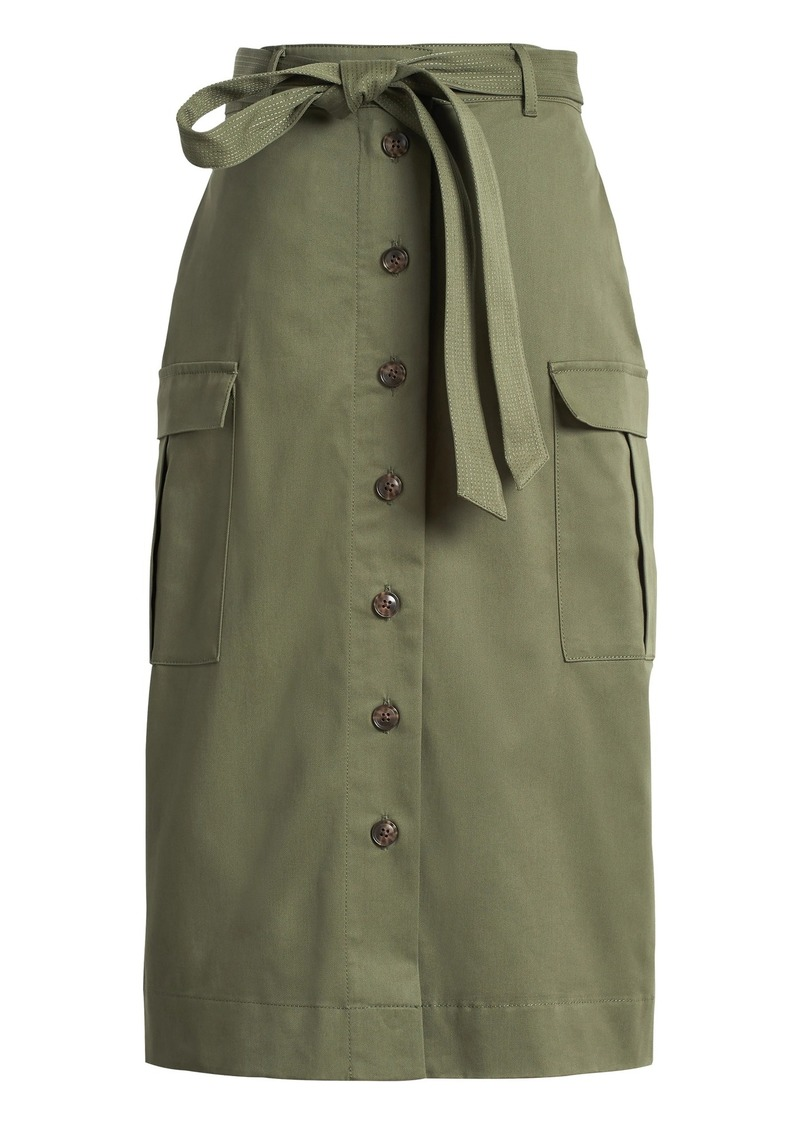 Banana Republic JAPAN EXCLUSIVE Utility Midi Skirt
