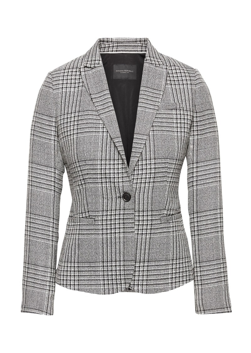 Banana Republic JAPAN EXCLUSIVE Classic-Fit Plaid Blazer