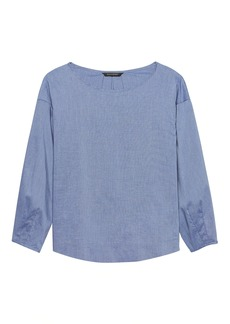 Banana Republic JAPAN ONLINE EXCLUSIVE Drama-Sleeve Top