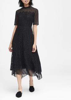 Banana Republic JAPAN ONLINE EXCLUSIVE Lace Handkerchief Hem Dress