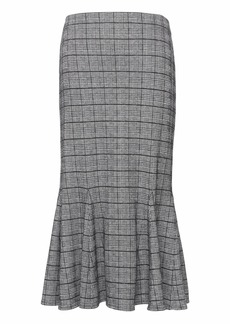 Banana Republic JAPAN ONLINE EXCLUSIVE Plaid Knit Trumpet Skirt