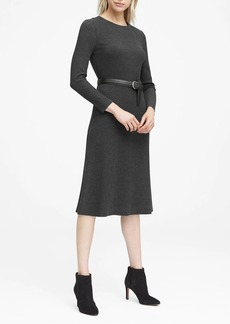 Banana Republic JAPAN EXCLUSIVE Ribbed Midi Sweater Dress