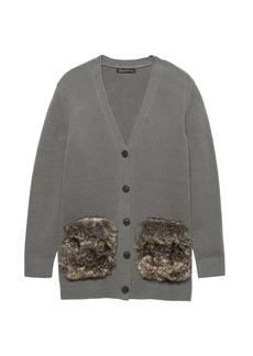 Banana Republic JAPAN ONLINE EXCLUSIVE Supersoft Cotton Blend Boyfriend Cardigan Sweater