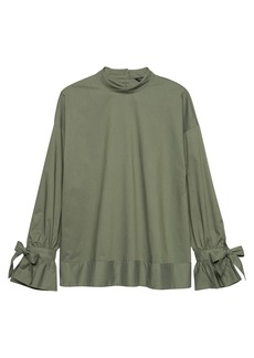 Banana Republic JAPAN ONLINE EXCLUSIVE Tie-Cuff Top