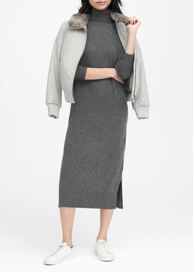 Banana Republic JAPAN EXCLUSIVE Turtleneck Sweater Dress