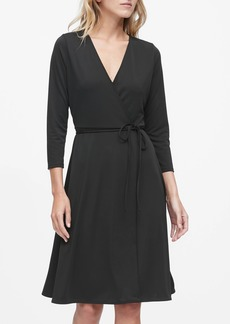 Banana Republic Jersey Wrap Dress