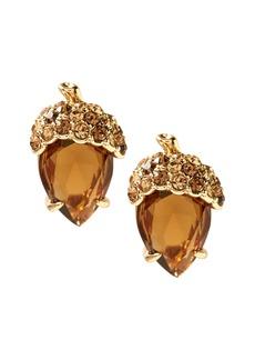 Banana Republic Jeweled Acorn Stud Earring