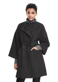 Kimono Sleeve Wrap Coat