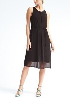 Knit Overlay Dress