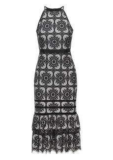 Banana Republic Lace Racerback Midi Dress