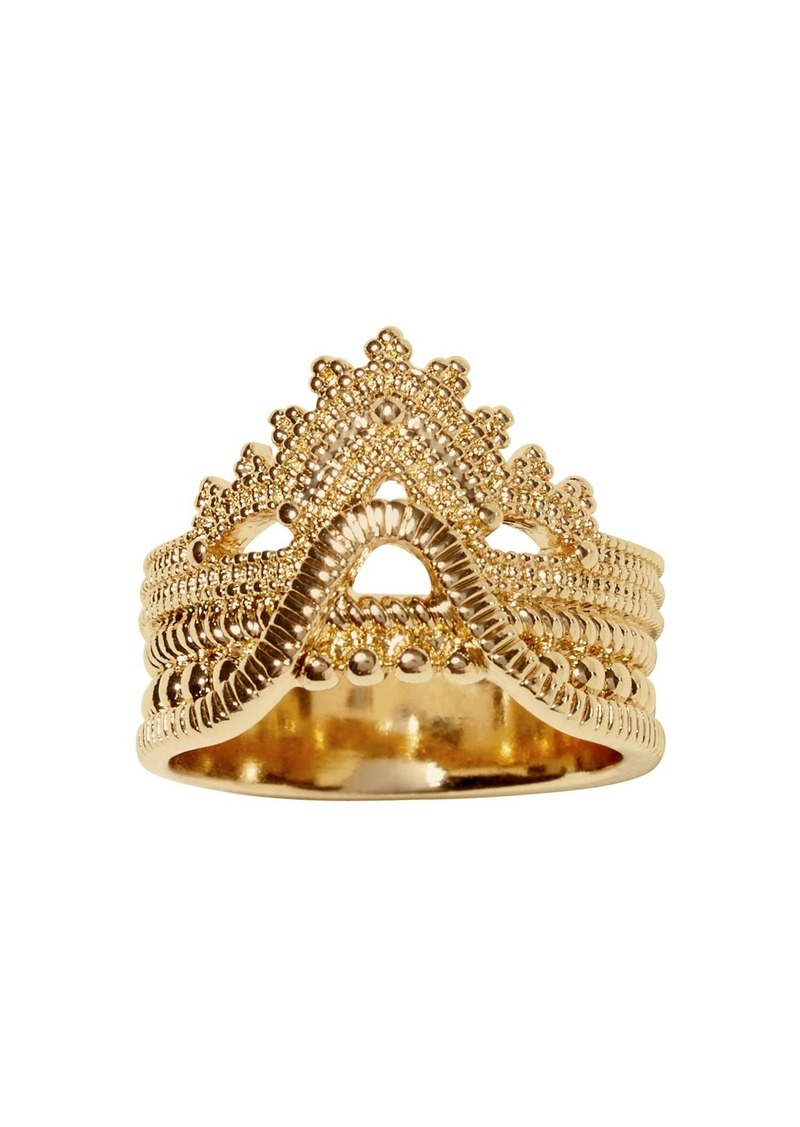Banana Republic Lace Stack Band Ring
