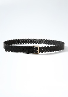 Banana Republic Lasercut Faux-Leather Belt