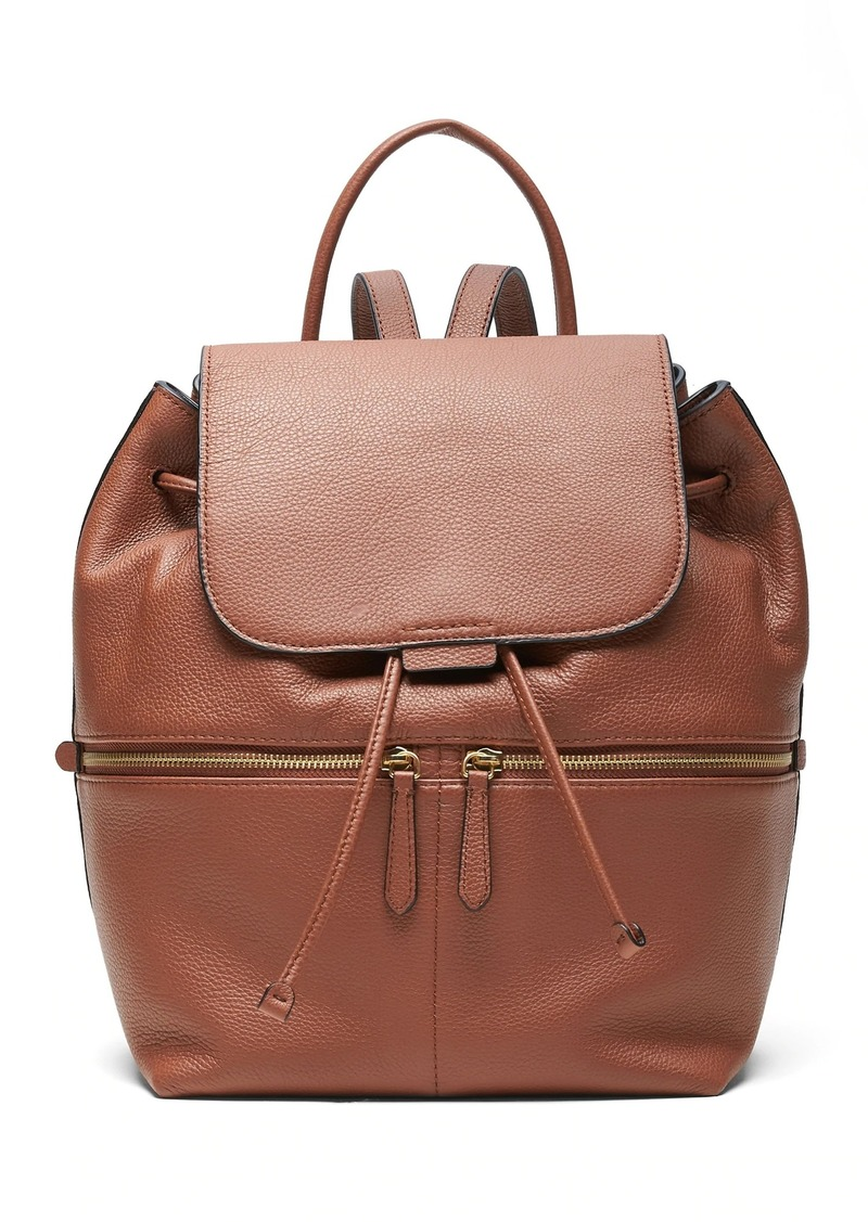 Banana Republic Leather Backpack
