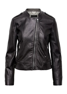 Banana Republic Leather Moto Jacket