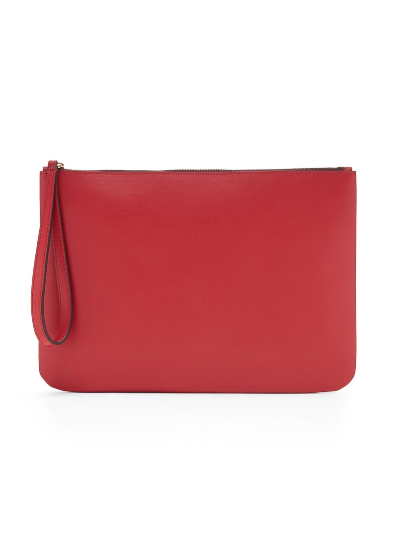 Banana Republic Leather Wristlet Clutch