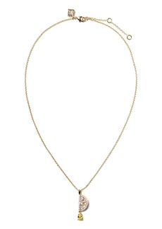 Banana Republic Lemon Pendant Necklace
