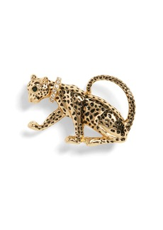 Banana Republic Leopard Brooch